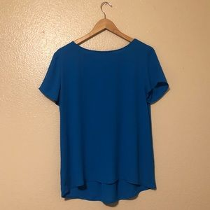 Loft Short-Sleeve Blouse